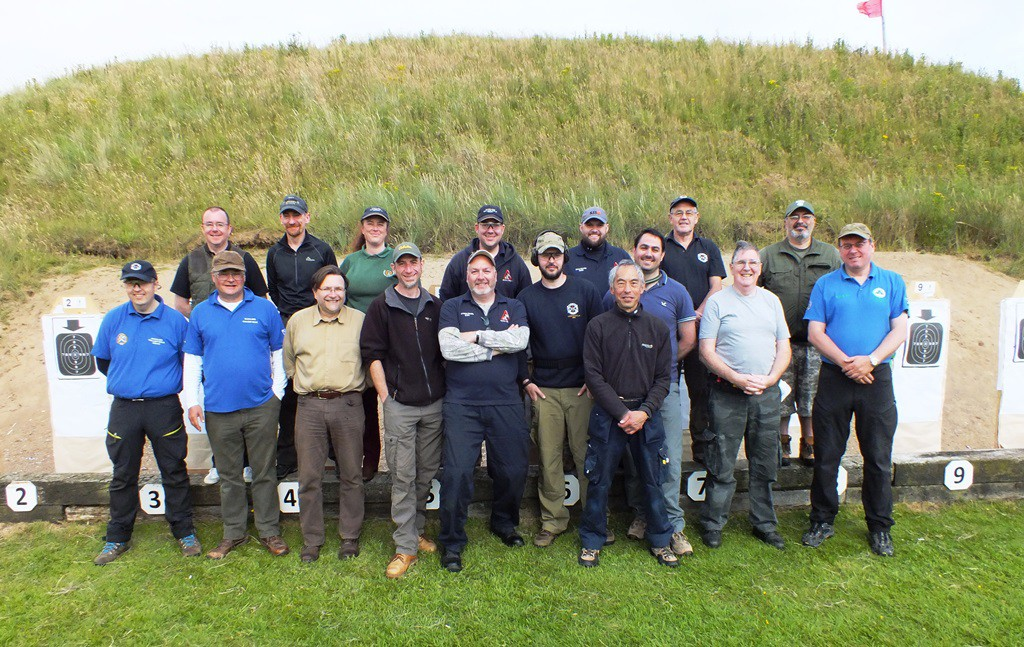 SGRC 2015 Aberdeen competitors for the 1500 matches