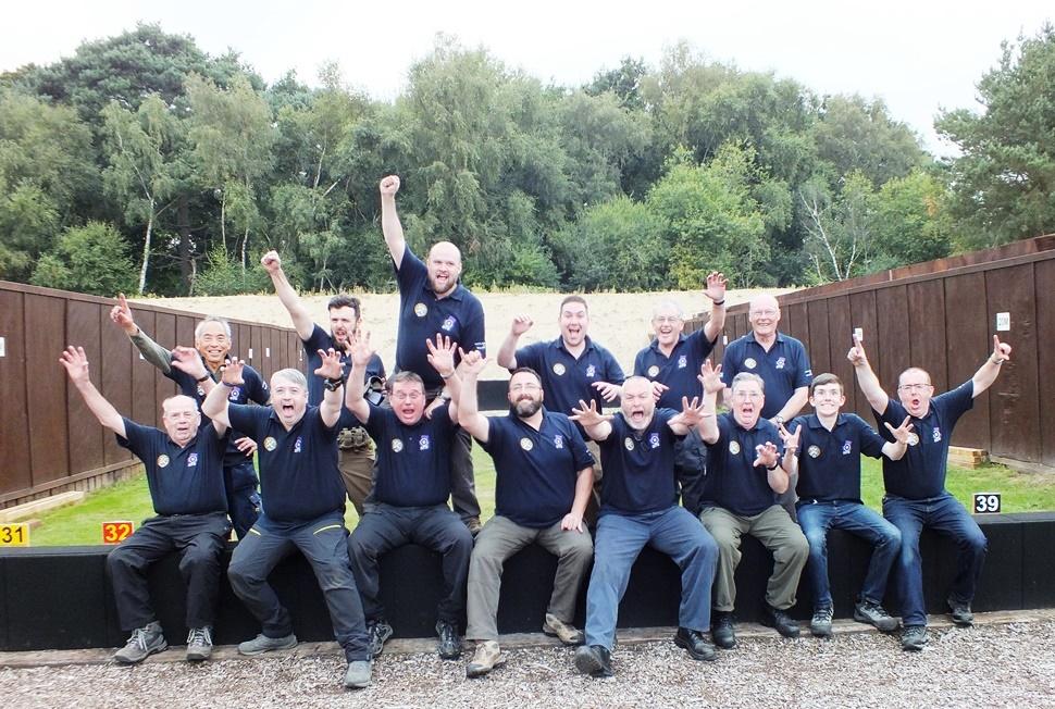 SCOTLAND GR-RRRR SQUAD MEMBERS AT BISLEY 2016